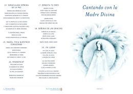 Cantando con la Madre Divina - Voz y Eco de la Madre Divina