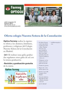 Folleto publicitario 3 - Colegio Nuestra Señora de la Consolación