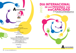 disCAPACIDAD - Fundacion prevent