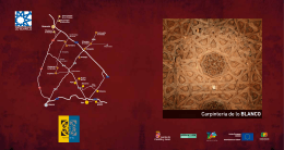 Folleto Carpintería de lo blanco - Patrimonio Cultural de Castilla y