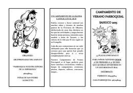 organiza - Parroquia NS de la Esperanza :: Peñas de San Pedro