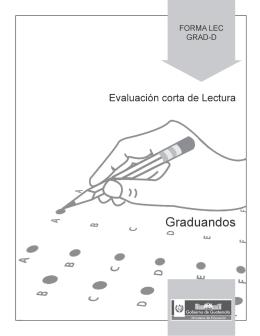 LEC GRAD-D - Ministerio de Educación