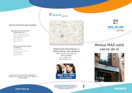 Mutua MAZ está cerca de ti (Madrid)