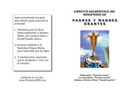Portada folleto MPMO 2009