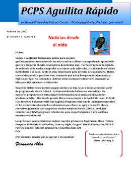 PCPS Aguilita Rápido - Putnam County Schools