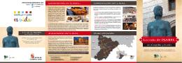 folleto informativo de la Ruta