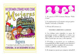 B A S E S - Colegio Patrocinio de María
