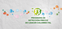 Folleto cribado cancer colon pdf - Gobierno del principado de Asturias