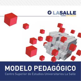 Folleto LaSalle.indd - La Salle Centro Universitario