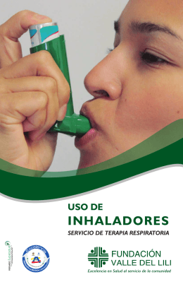Folleto Uso de Inhalador - Fundacion Valle del lili