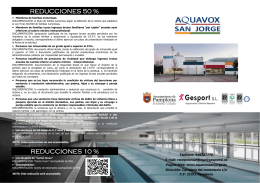 Nuevo folleto informativo 2014