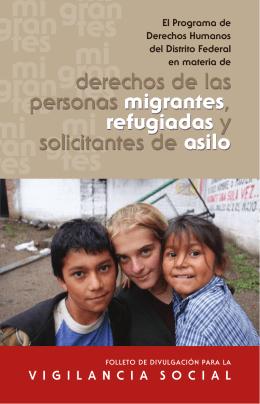 derechos de las personas migrantes, refugiadas y