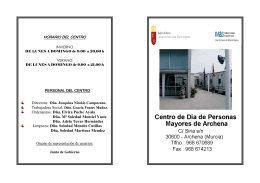Centro de Día de Personas Mayores de Archena