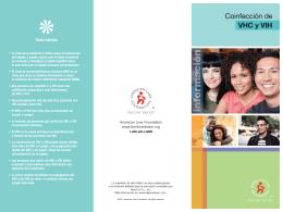 Datos básicos - American Liver Foundation