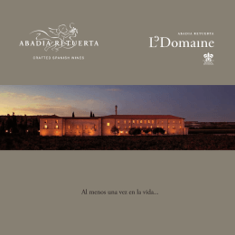 Folleto Abadía Retuerta LeDomaine