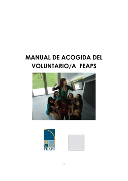 folleto voluntariado editado 2010
