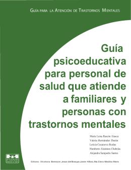 Guía psicoeducativa para personal de salud que atiende