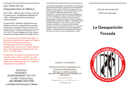 Folleto DF - Comité Cerezo México