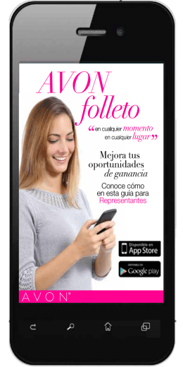 AVON folleto
