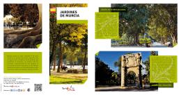 Folleto Jardines de Murcia
