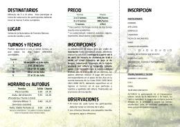 Descargar folleto informativo del campamento