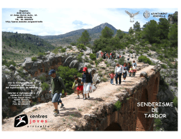 Folleto Programa Excursiones 2009
