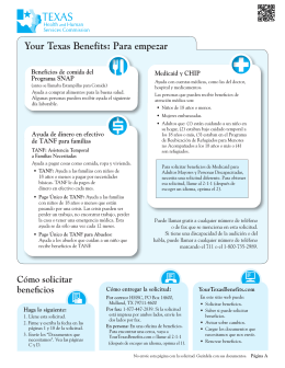 Your Texas Benefits - Texas Health and Human Services Commission
