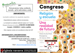 FOLLETO CONGRESO final castellano