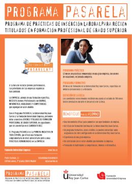 Folleto Alumnos Pasarela A4.qxd