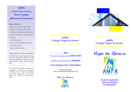 folleto ampa - Colegio Virgen de Gracia