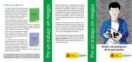 Folleto (pdf, 712 Kbytes) - Instituto Nacional de Seguridad e Higiene