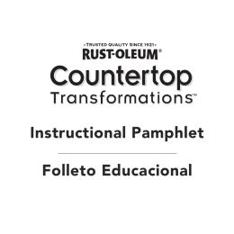 Instructional Pamphlet Folleto Educacional