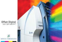 Descarga nuestro folleto con más información sobre Offset Digital