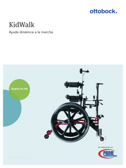 Folleto Kidwalk