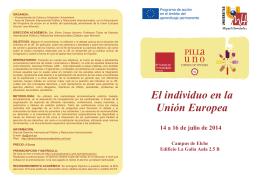 folleto Curso de verano el individuo 2014 Hoja01