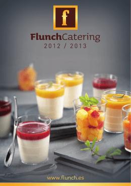 catálogo Cátering Flunch