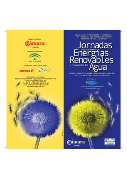 FOLLETO ENERGIAS RENOVABLES