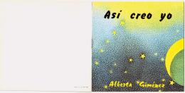 "Folleto ""Así creo yo, Alberta Giménez"""