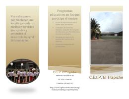 folleto trapiche