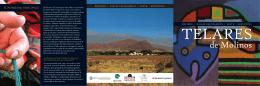 folleto telares de molinos - Fundación Naturaleza para el Futuro