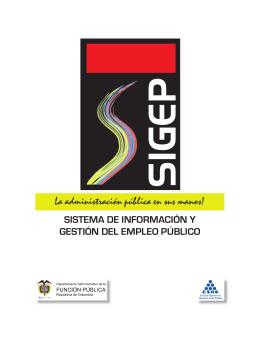 Sistema de información y gestión del empleo