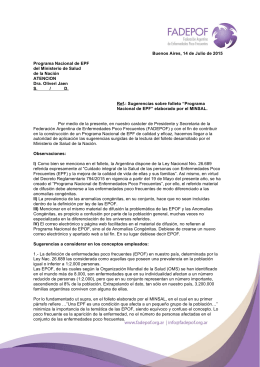 Posicionamiento folleto EPF