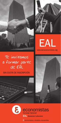 Folleto Corporativo EAL