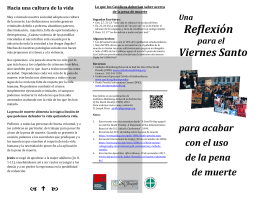 Descargue el folleto. - Catholic Mobilizing Network