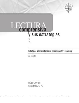 Lectura Comprensiva – Liceo Javier Guatemala.