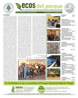 EDITORIAL INDICE - Parque Nacional Nahuel Huapi