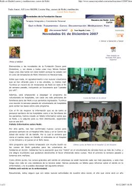 Reiki en Madrid cursos y meditaciones, cursos