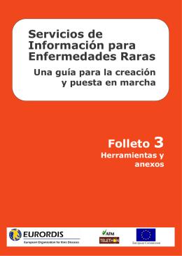 Servicios de Información para Enfermedades Raras Folleto 3