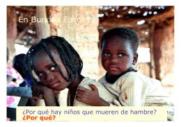 Folleto Informativo. Asociación Mujeres de Burkina
