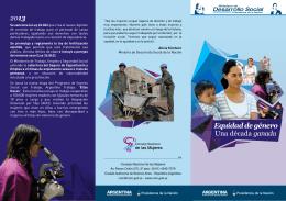 Equidad de género (folleto)